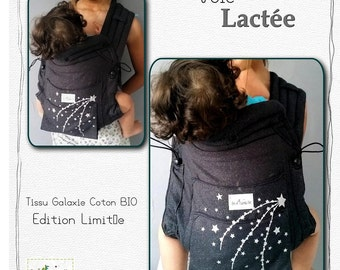 Mei tai BIO/Porte baby Chinese/portage/Baby carrier/milky way scarf