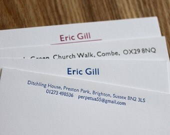 Personalised Stationery - Gill