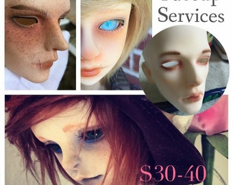 Faceup Commission by makkichanBJD