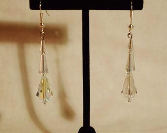 Swarovski Crystal Drip Drop Earrings
