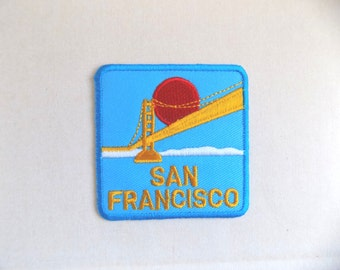 Iron On Patch - San Francisco Patch Applique embroidered patch Sew On Patches