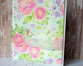 Vibrant Florals Mother's Day Card