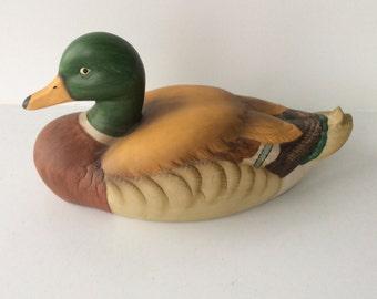Mallard Duck Music box