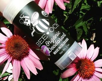 BEE-OCH: USDA Organic Deodorant