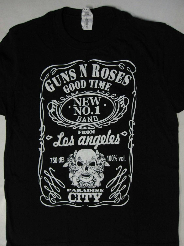 Guns n roses band t shirt s xxl top merch for Xxl band t shirts