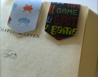 Bookmark Set of 2 (Space Invaders)