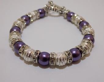 Purple Stardust Bracelet