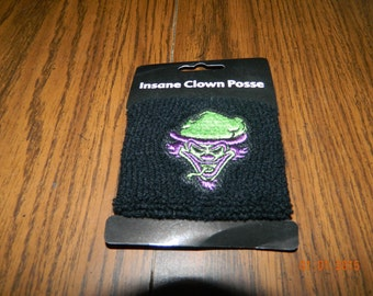 "New- OFFICIALLY LICENSED ICP ""The Riddle Box "" terrycloth wristband."