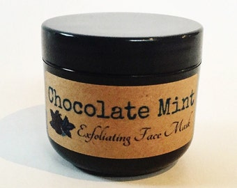 Chocolate Mint Exfoliating Mask