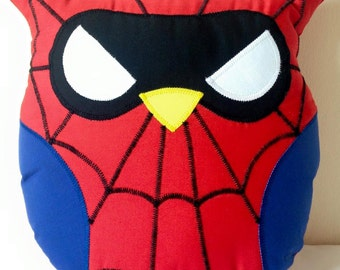 Spiderman Owl Cushion
