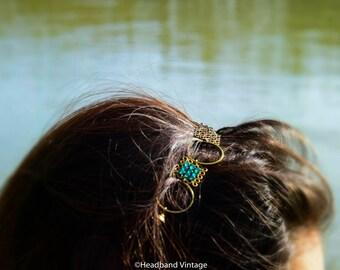 """Vintage Headband / head jewel  """"Midina"""""""