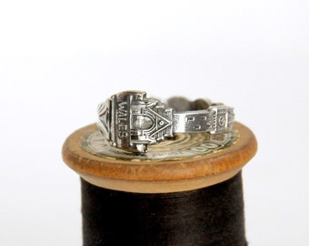 wales ring,welsh ring,  spoon ring, UK ring