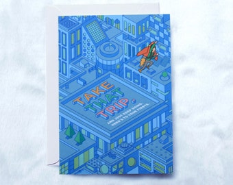 Greeting Card - Roof
