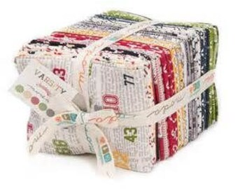 Varsity Fat Quarter Bundle by Sweerwater for Moda