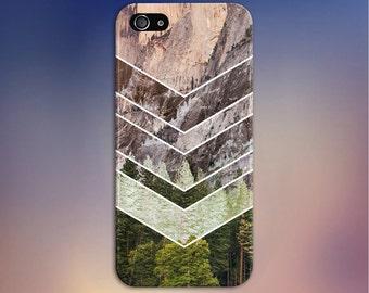 Chevron Negatives x Mountain Forest Case, iPhone 7, iPhone 7 Plus, Tough iPhone Case, Galaxy s8, Samsung Galaxy Case, Note 5, CASE ESCAPE