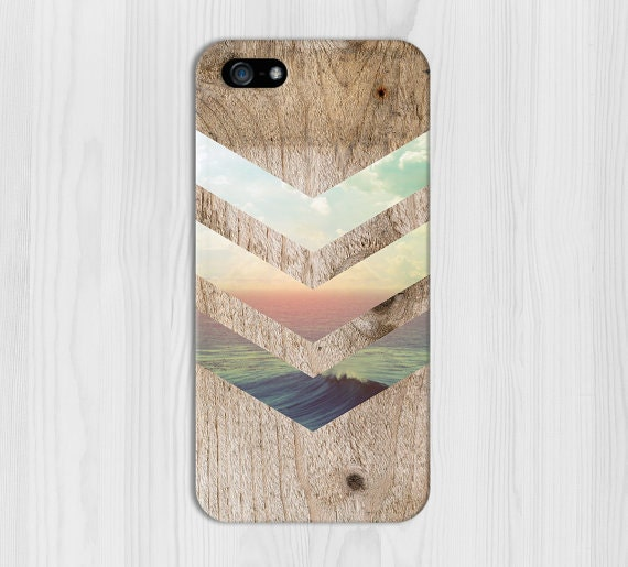 California Skies Ocean Wood Phone Case, iPhone 7, iPhone 7 Plus, Rubber iPhone Case, Galaxy S7 Samsung Galaxy Case Note 7 Nature CASE ESCAPE