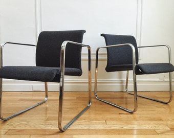 PAIR Peter Protzman For Herman Miller Arm Chairs