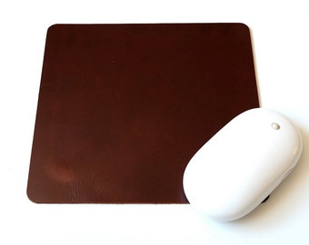 Leather Mouse Pad, leather mousepad, leather mouse mat, mouse pad, mousepad, monogram mousepad
