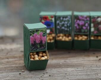 Dolls House Miniature Garden Bulbs