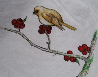 Yellow Bird; girl's shirt