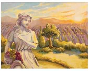 "11x14"" Pinot Grigio Art Print"