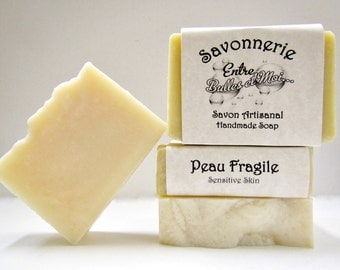 Handmade soap for Sensitive skin Palm free-eczema-psoriasis-Great for baby