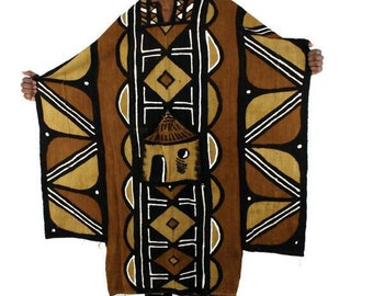 African Mud Cloth Buba