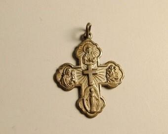 "I'm a Catholic Please Call a Priest"" Cross Pendant"