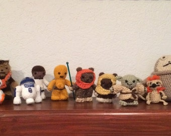 Star Wars Crocheted Characters