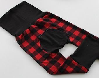 Christmas Gifts for Kids ~ Christmas Pj's ~ Christmas Maxaloones ~ Plaid Grow with Me Pants ~ Plaid Maxaloones ~ 5 Colors ~ NB-5t.