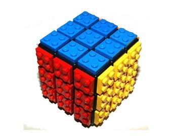 Lego Rubik's Cube - Puzzle Cube - Birthday Gift - Rubix Puzzle Cube