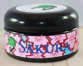Tallow Shaving Soap - Sakura -  Cherry blossoms and subtle musk