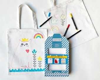 Kit for printing on fabric by Yellow Owl Workshop