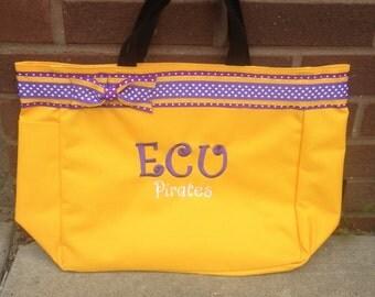 East Carolina Pirates Tote Bag