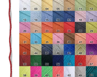 Yarn: Jeans-YarnArt, 1 skein 50gr/159m