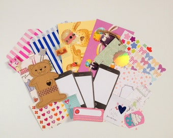 Happy Mail Grab Bag, Stickers, Washi, Pen Pals, Stationery