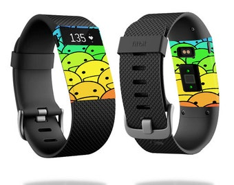 Skin Decal Wrap for Fitbit Blaze, Charge, Charge HR, Surge Watch cover sticker Happy Faces
