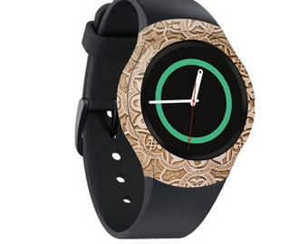 Skin Decal Wrap for Samsung Gear S2, S2 3G, Live, Neo S Smart Watch, Galaxy Gear Fit cover sticker Carved