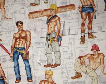 Alexander Henry - Construction Workers - Pin-up Guys -