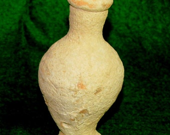 ANCIENT ROMAN Spindle Vase; 1st to 2nd Century AD