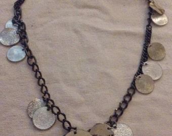 Vintage rustic charm necklace.