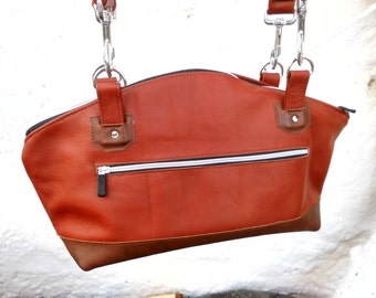 Shopper, Tote Bag, Ledertasche, Ledershopper, Leatherbag