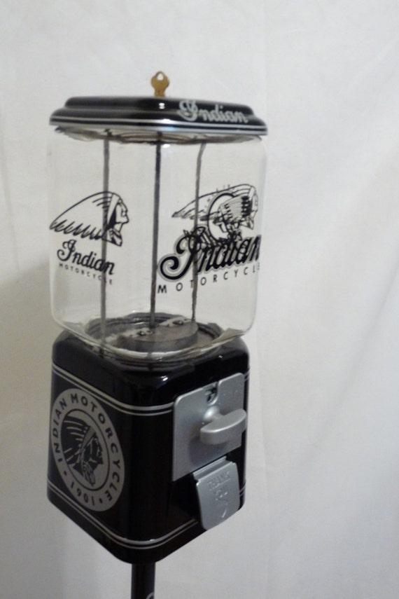 Vintage acorn gumball machine