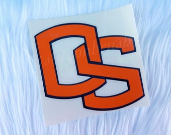 Oregon State sticker decal - OSU sticker - Oregon State University car decal - car sticker - oregon state car accessory