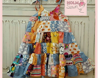 Patchwork dress - age 4 (can also be made to order)