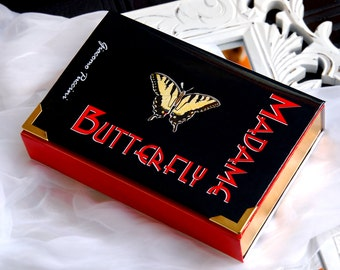 Book Clutch MADAME BUTTERFLY