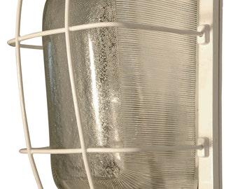 Vintage Industrial Rectangular Bulkhead Lamp OMG-100