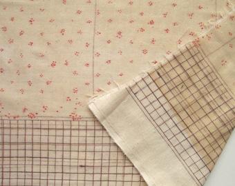 Nani Iro 2016 Japanese Fabric Bed Grass Cozy Double Gauze, 1.5 yards