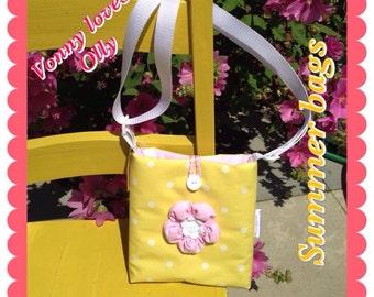 Girls Oilcloth Messenger Bag