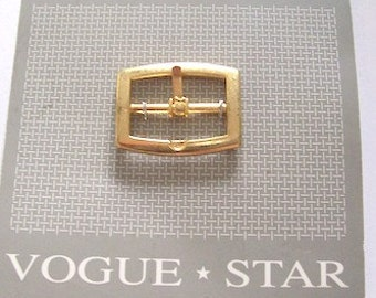 Gold Buckle metal rectangle buckle Size 3cm x 2cm
